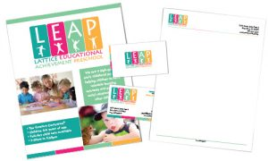 LEAP Preschool Branding