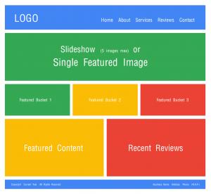 Free Web Design Template (The Basics)