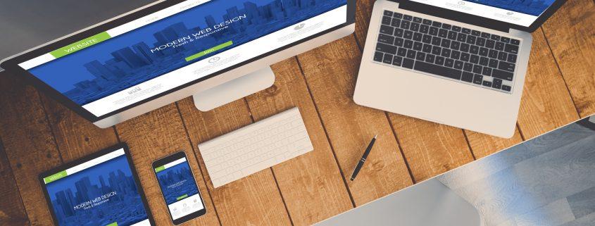 Find web design tips for 2018