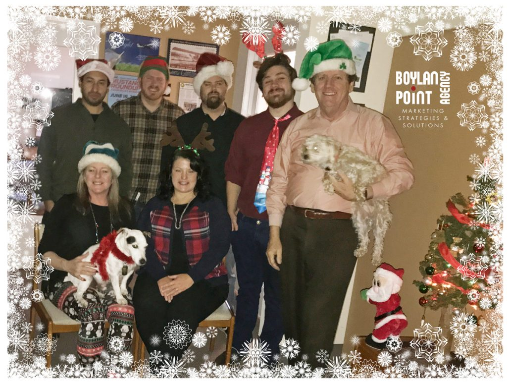 Boylan Point Agency Christmas 2017 Photo