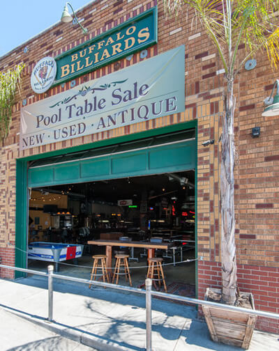 Buffalo Billiards Pool Hall in Petaluma