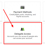 Delegate access to GoDaddy account