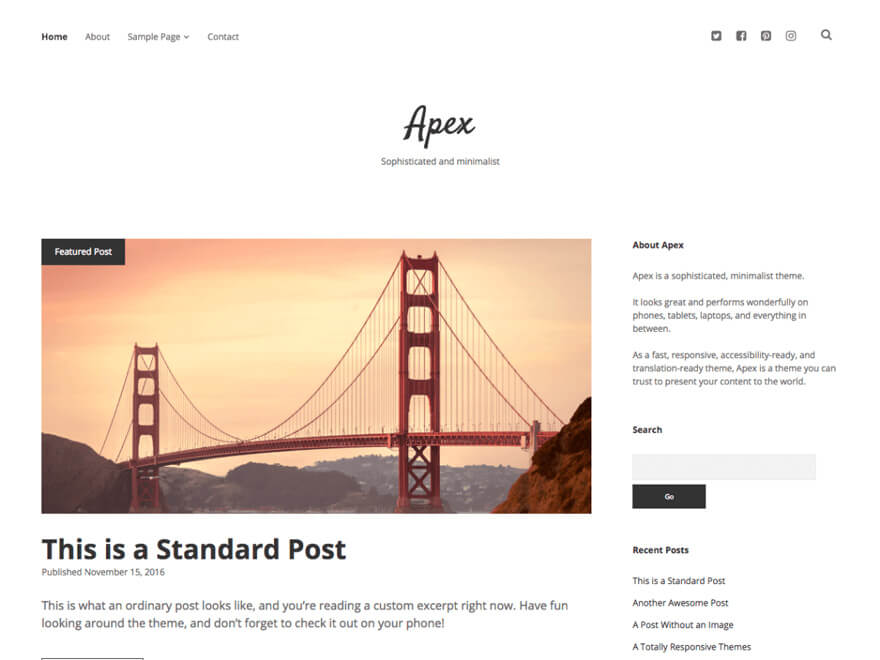 Apex ADA WordPress Theme