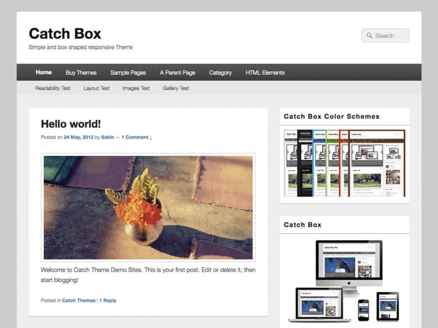 Catch Box ADA WordPress Theme