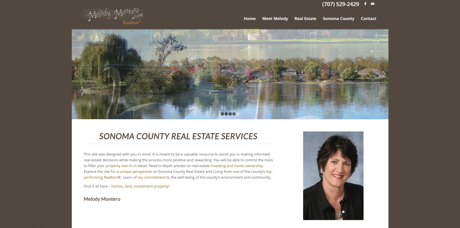 Link to Real Estate Web Design