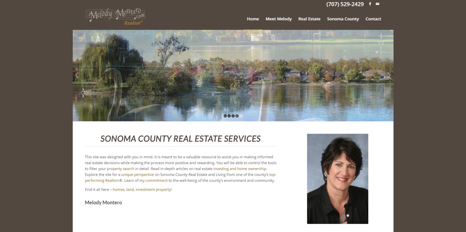 Link to Real Estate Web Design