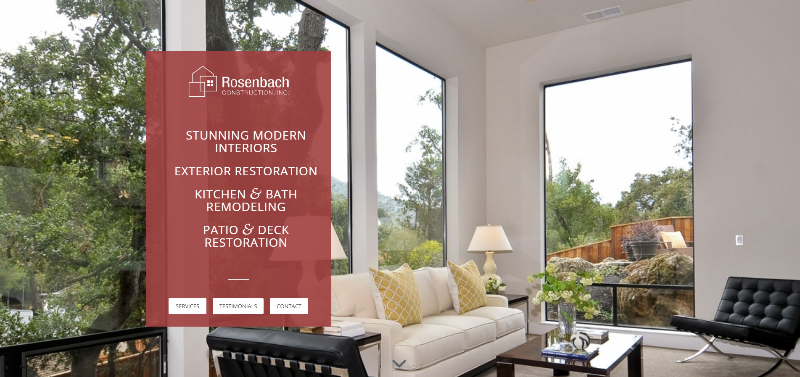 Link to Rosenbach Construction Landing Page