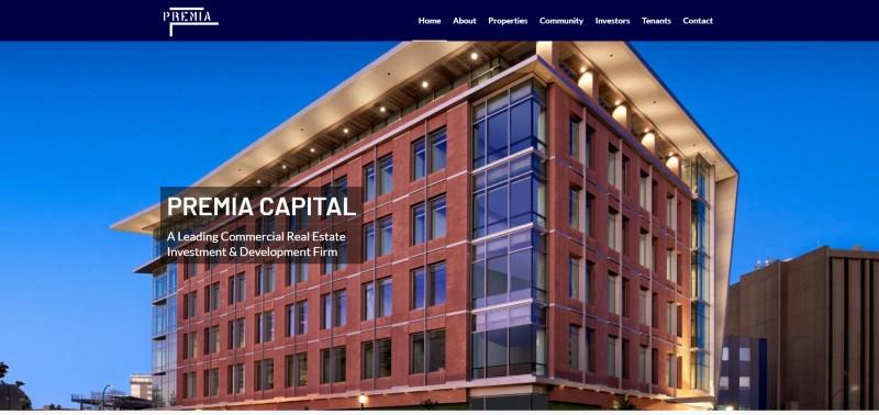Link to Premia Capital Web Design