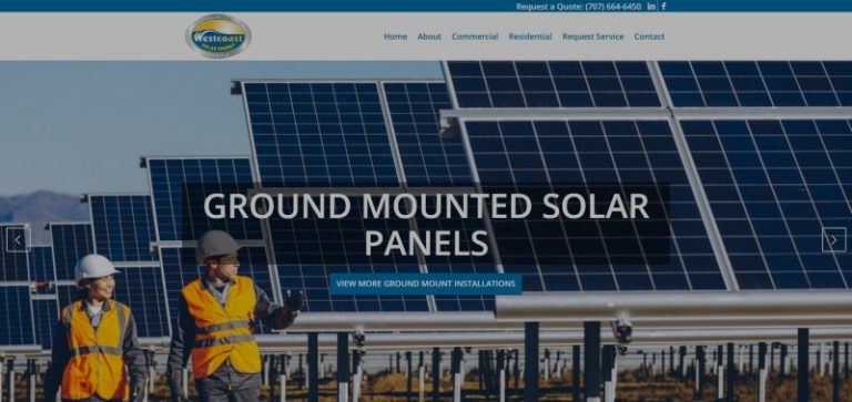 Link to West Coast Solar Energy