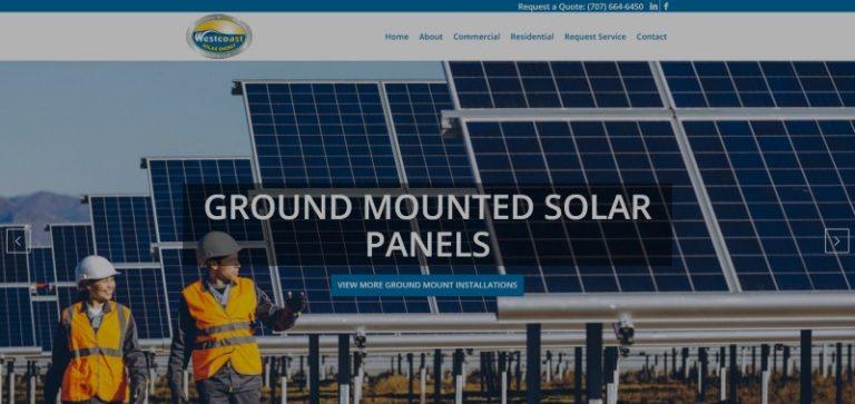 Link to West Coast Solar Energy